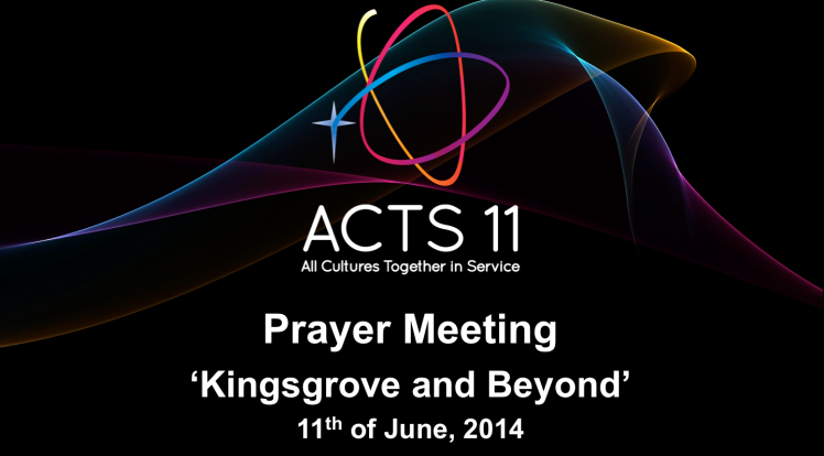 ACTS11 Prayer Meeting