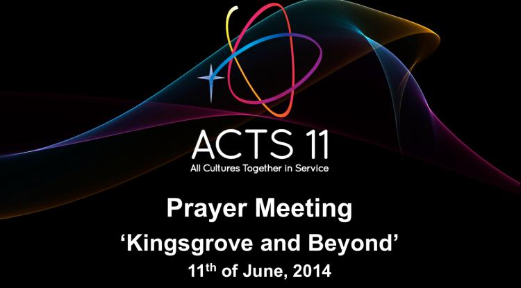 ACTS11 Prayer Meeting