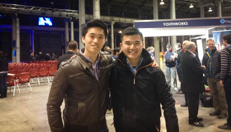 Me and my good friend Dom Cheung at the conclusion of Oxygen Conference 2014. It's pretty incredible seeing how God has been working in our lives since Oxygen 2012 when both of us were considering whether we were suitable to be involved in pastoral work. Dom is now the intern at Kirkplace Presbyterian Church.