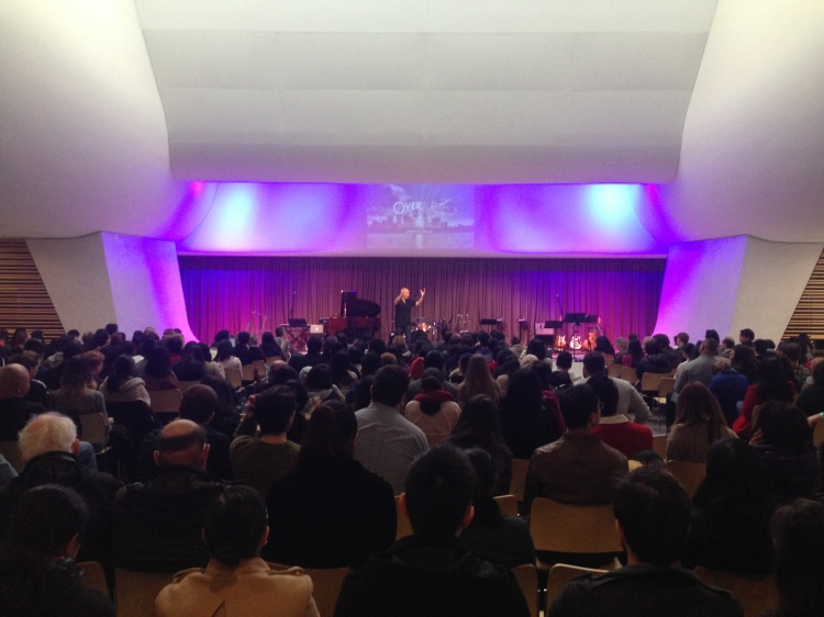 Francis Chan speaking at Overflow Conference